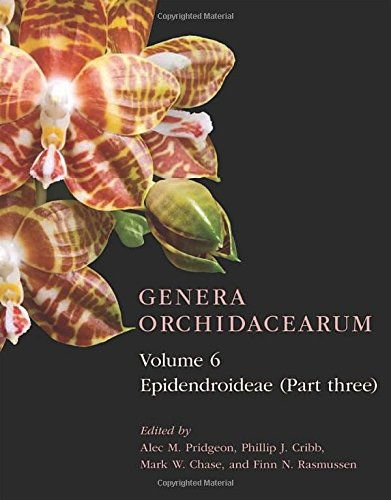 Book cover from Genera Orchidacearum Volume 6: Epidendroideae (Part 3) by Alec M. Pridgeon