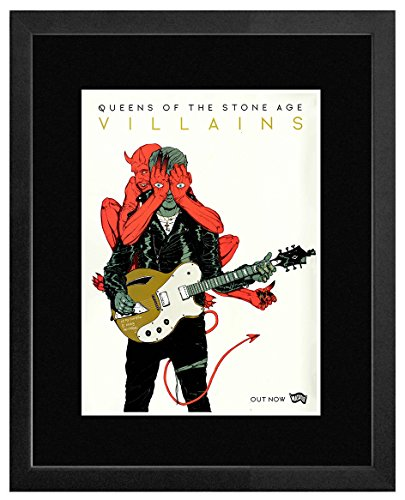 Queen OF Stone Age - Villains New Album 2017 Mini Poster - 40.5x30.5cm