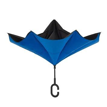 7cf8ca3e9 Amazon.com | ShedRain UnbelievaBrella Reverse Umbrella: Black and ...
