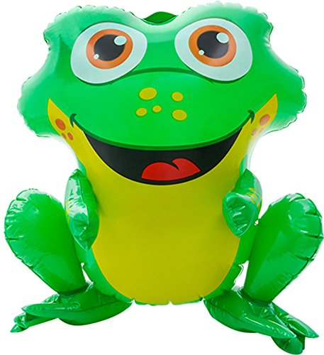 Green Spotted Frog - Block Buster Costumes Rainforest Spotted Poison Dart Green Frog Animal Inflatable 20