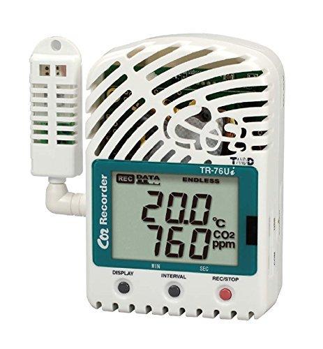 CO2温度湿度データロガー  TR-76Ui B013D0UJ5O