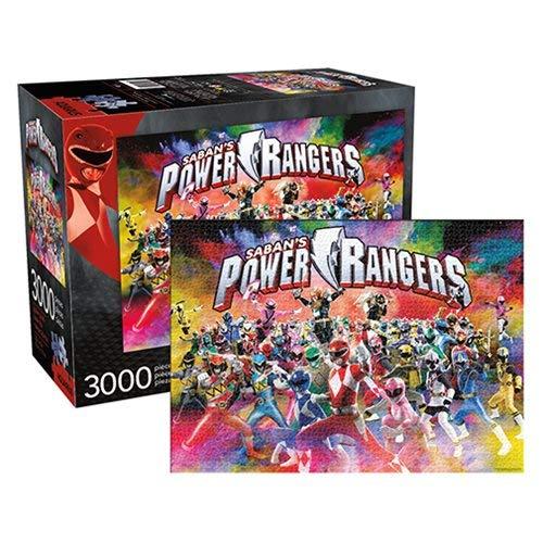 Power Rangers Universe 3000 Pc Jigsaw Puzzle