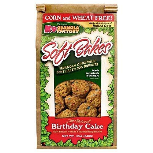 Image of K9 Granola Factory K900334 Soft Bakes Birthday Cake, 12 Oz