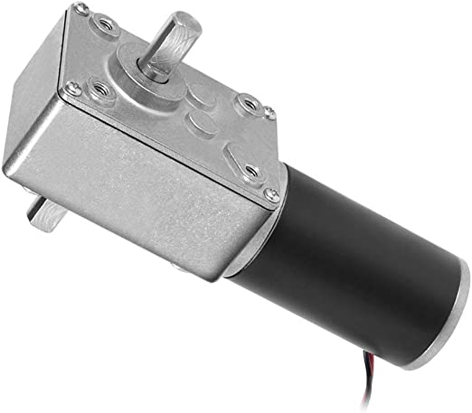 12V 10RPM Electric Reversible DC Motor with Shaft Gear Box Reduction Motor