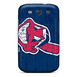 Samsung Galaxy S3 NZc8286QdCA Unique Design Nice Cleveland Indians Skin Durable Cell-phone Hard Covers -LauraAdamicska