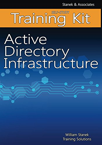 Active Directory Infrastructure Self-Study Training Kit (Windows Active Directory)