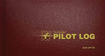 Standard Pilot Log Burgandy (Standard Pilot Logbooks) from Aviation Supplies & Academics, Inc.