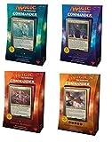 Commander 2017 MTG Magic The Gathering SET OF ALL 4 DECKS