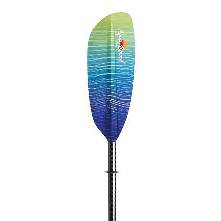 AQUA BOUND Aquabound Tango Kayak Paddle with Fiberglass Blade 2 Piece Posi-Lok Carbon Shaft