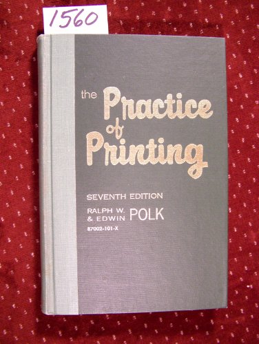 The Practice of Printing: Letterpress and Offset