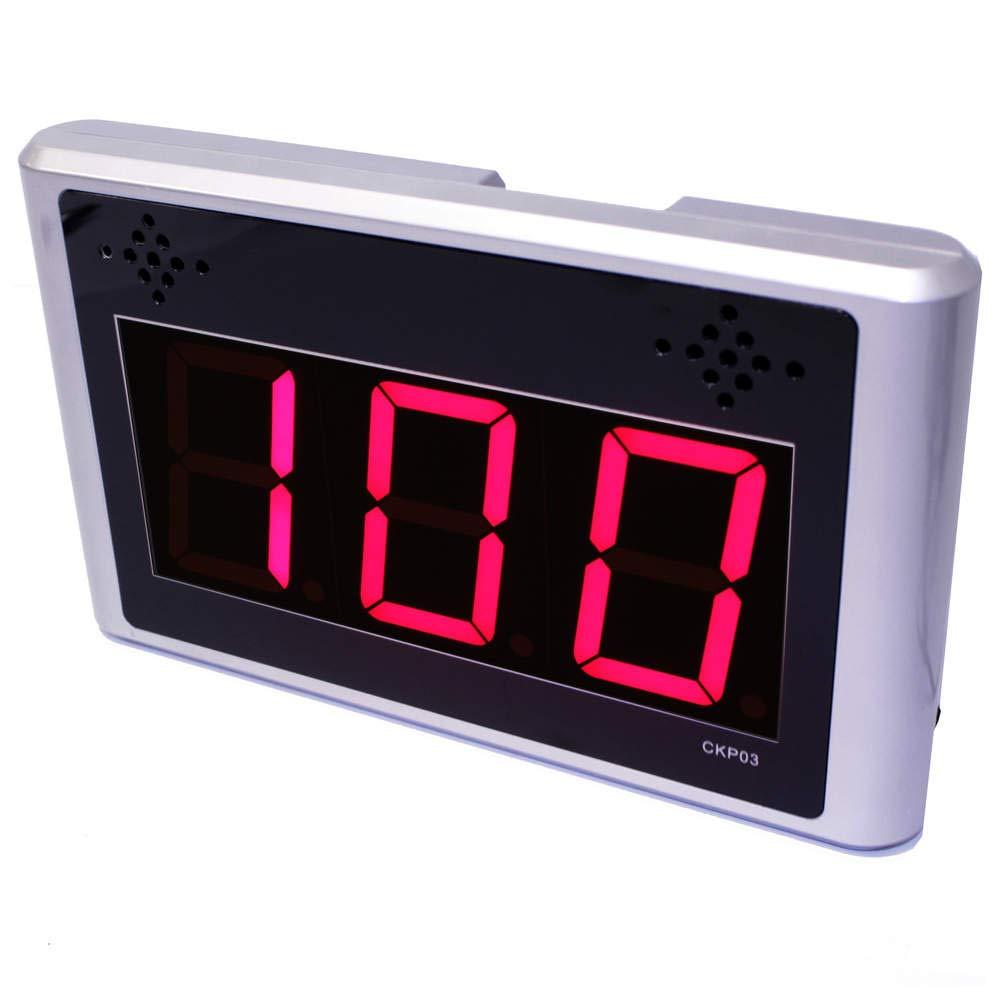 Cablematic - Gestión de Colas electrónico Su Turno 3-dígitos programable (Visor): Amazon.es: Electrónica