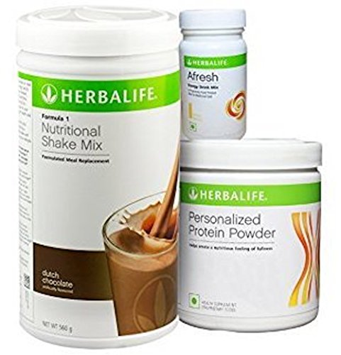 Herbalife Formula 1 Weight Loss Program - Diet Nutritional Shake Protein Powder Mix, Natural Organic Meal Replacement Shakes for Men and Women by Herbalife