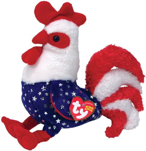 Amazon.com  Ty Beanie Babies Homeland Rooster  Toys   Games 1b328c988c8