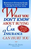 What You Dont Know About Buying Car Insurance Can Hurt You