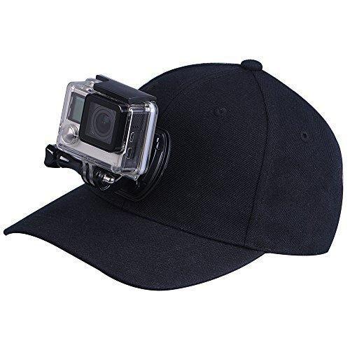 Sport Camera Baseball Cap Head Mount for. Quick Release Buck