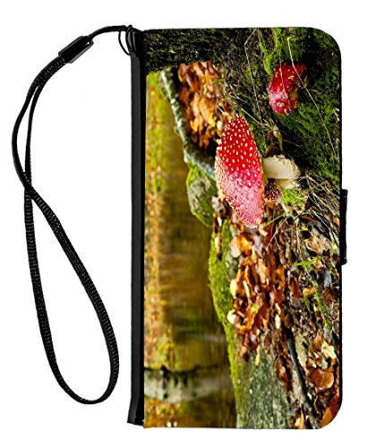 Rikki Knight iPhone 6 & 6s PU Wallet Flip Case – Antique Coffee Grinder and Sunflower