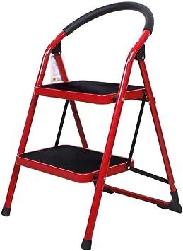Jian E Escalera Plegable Esquina cocina heces cateto de 3 pasos escaleras plegables escalera de Hogares de doble uso tindoor escalera escalera mecánica paso ligero heces // (Talla : 2-step): Amazon.es: Bricolaje