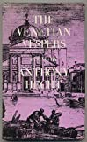 The Venetian Vespers, Anthony Hecht, 0689110154