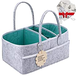 Baby Diaper Caddy Organizer - Shower Reg...