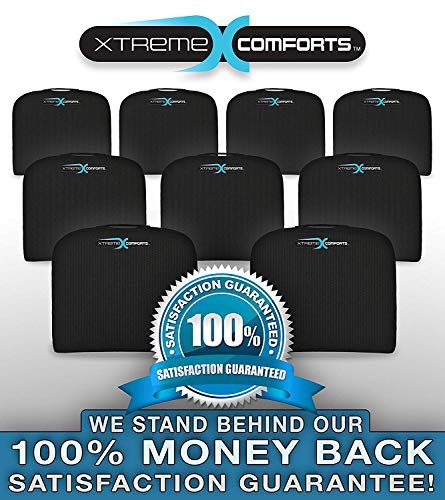 Xtreme Comforts Large Seat Cushion with Carry Handle and Anti Slip Bottom Gives Relief from Back Pain (2 Pack) by Xtreme Comforts (Image #5)