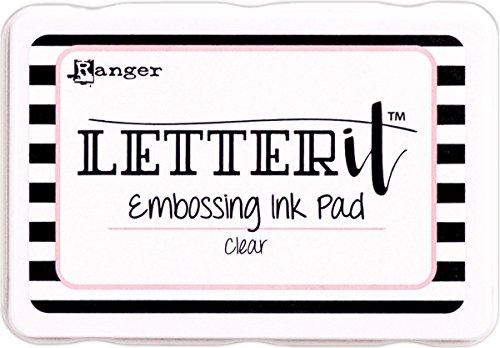 (Ranger Letter It Embossing Ink Pad)