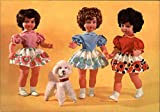 Vintage Advertising Postcard: Paola Doll Modern 1970's to Present