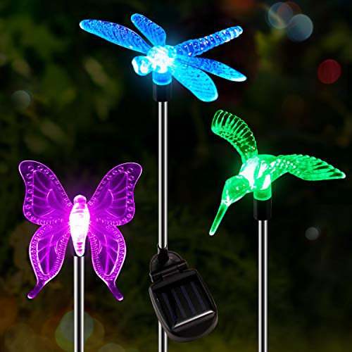 Outdoor Solar Lights Dragonfly in US - 9