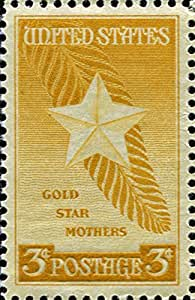 Amazon Com Single 03 Cent Us Postal Stamp Gold Star Mothers 1948 S 969 Toys Amp Games