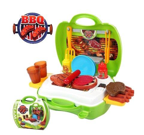 Pretend Play - BBQ Set (Big Clock Necklace)