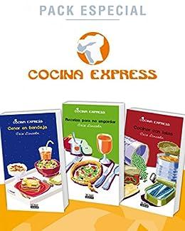 Pack especial: Cenar en bandeja / Recetas para no engordar / Cocinar con latas (