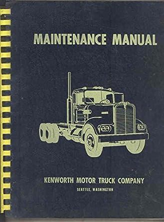 kenworth repair manuals