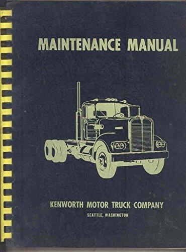 1964-1969-kenworth-k125-truck-original-factory-repair-shop-manual