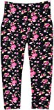 Crush Young Girls Teen Print Leggings in 8 Fun Colorful Patterns in 6 Sizes (5/6, 24102 Black)