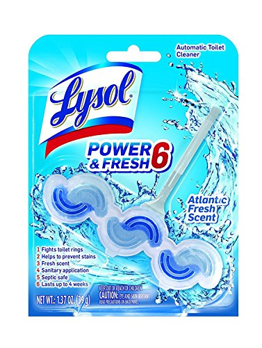Lysol Power   Fresh 6 Automatic Toilet Bowl Cleaner  Atlantic Fresh   1 37 Ounce