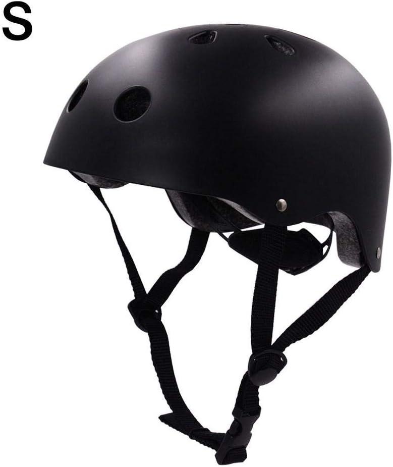 Jugendliche und Erwachsene Outdoor-Sportarten Tragbare bouncevi Fahrradhelm in Mehreren Gr/ö/ßen Skateboard-Helm f/ür Kinder atmungsaktive Fahrradhelm-Kopfbedeckung