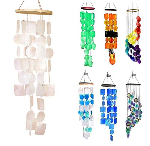 Bellaa 22913 Wind Chimes Outdoor Large Memorial Windchimes Amazing Grace Sympathy Wind Chimes Gifts for Garden Home Yard Hanging Indoor Decor 26 inch White from Bellaa