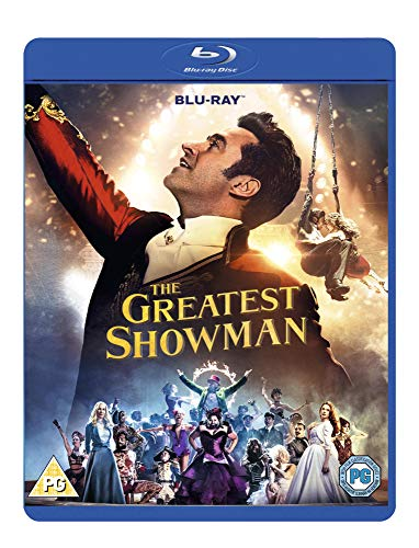 The Greatest Showman [Blu-ray + Digital Download] Movie Plus Sing-along [2017] [Region2] Requires a Multi Region Player