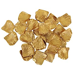 AbbyLexi Pack of 500 Pcs Artificial Silk Rose Petals for Wedding Decoration 2