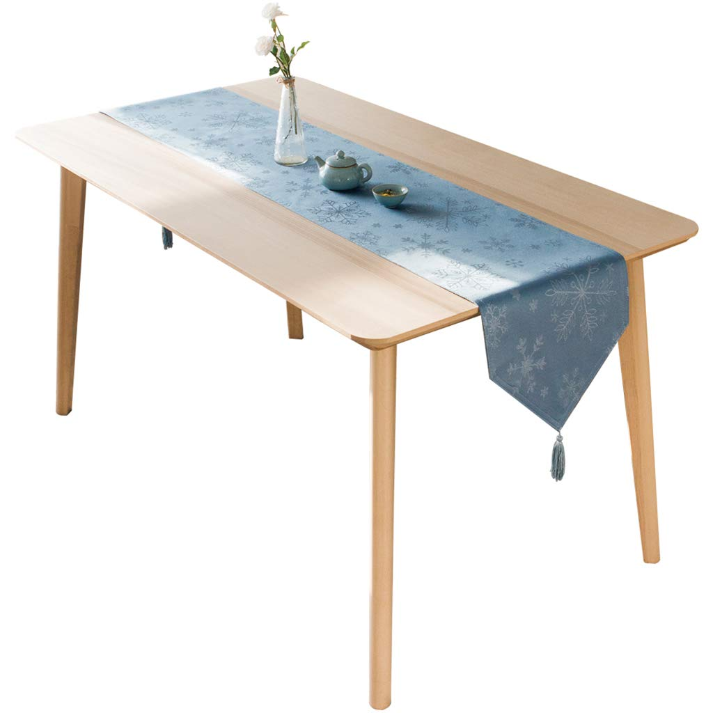 プレースマット テーブルクロス布地ノルディックテーブル盛り合わせティーテーブルテレビキャビネット布テーブル装飾布ストリップモダンシンプルダブルレイヤー (サイズ さいず : 33*220cm) 33*220cm  B07RJY13CY