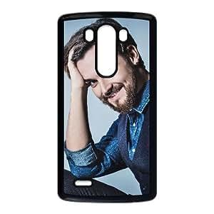 Teléfono celular de LG G3 caso funda Negro Fabrizio Moro R1W2EA