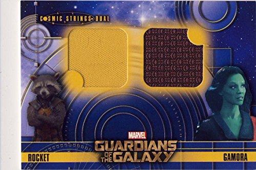2014 Guardians of the Galaxy Trading Card Set Wardrobe Cosmic Strings Dual CSD-7