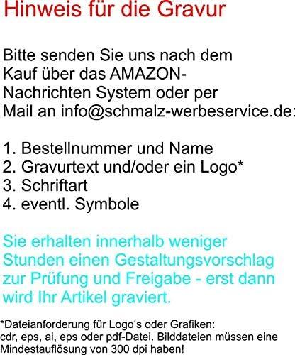 Edelstahl Flachmann Set inkl. Gravur schwarz Schnapsgläser Einfülltrichter Lasergravur Flachmannset