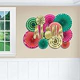 Amscan Aloha Deluxe Fan Decorating Kit