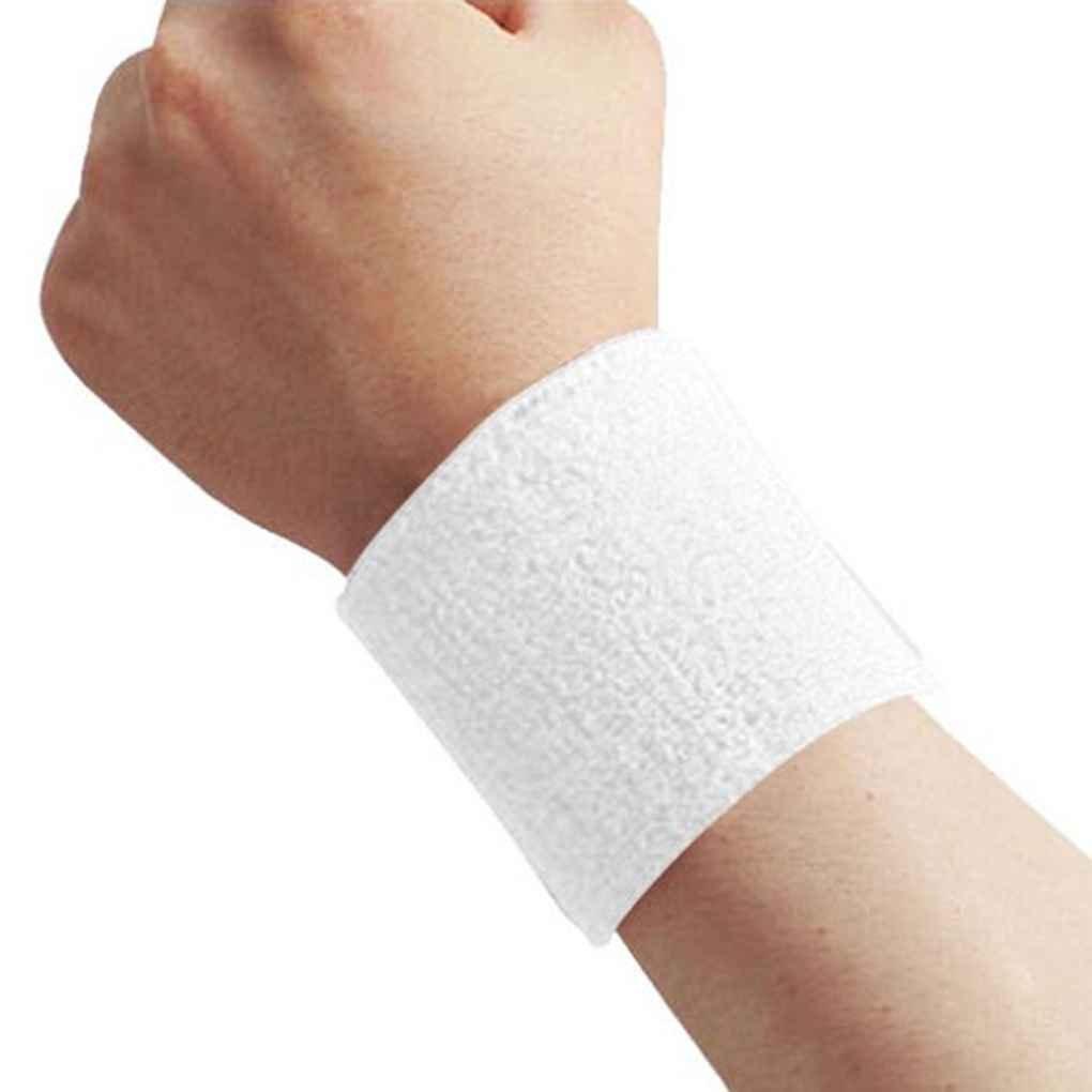 Uzinb 1x Unisex Tela de Toalla de algod/ón Sweatband de Pulsera Deportivo de Tenis el Wristband Sudor Yoga