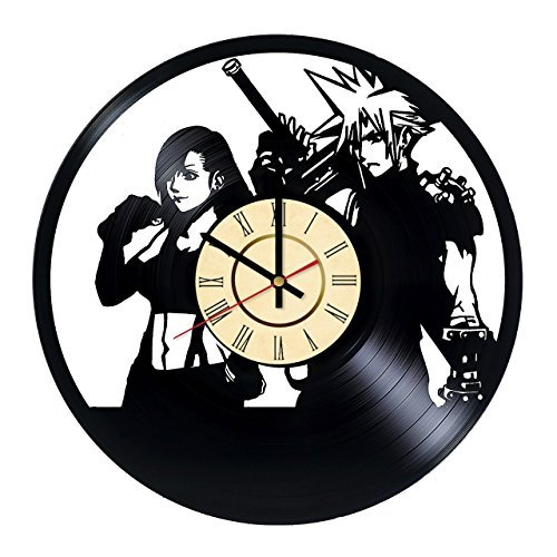 Final Fantasy XV Science Fiction Game Handmade Vinyl Record