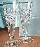 Waterford Crystal Pair Long Drinks Beer Pilsner Glasses Made In Ireland New In Box