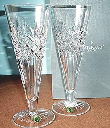 Amazoncom Waterford Crystal Pair Long Drinks Beer Pilsner Glasses