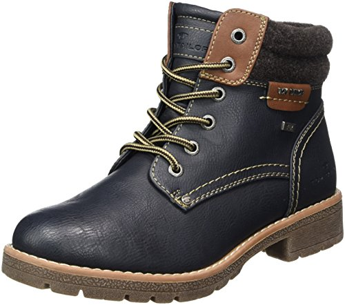 Tom Blau Navy Women's 3792004 Tailor Boots 7xqrRw7p