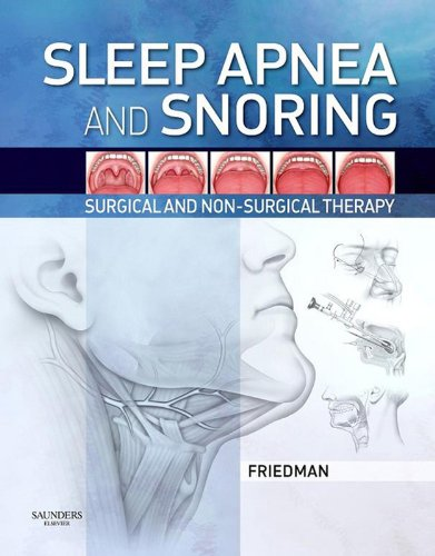 Download Sleep Apnea and Snoring: Surgical and Non-Surgical Therapy Pdf