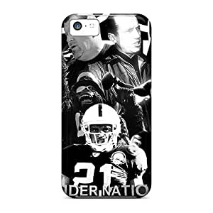 Top Quality Case Cover For Iphone 5c Case With Nice Oakland Raiders Appearance